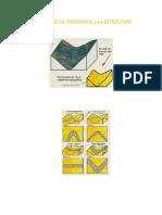 Relación Entre La Topografía y La Estructura Geologica