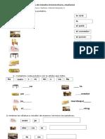 Guía de Estudio y Prueba Lectoescritura Mañana