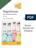05 - Demand Estimation and Forecasting