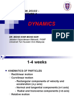 Lecture 1Dynamics