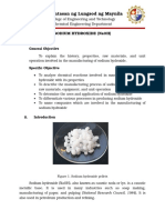 Sodium Hydroxide Executive Summary