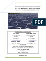EIA-Solar Power Study Report