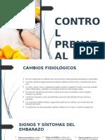 Control Prenatala y Complicaciones Del Embarazo