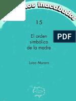 Muraro, Luisa - El Orden Simbólico de La Madre