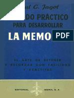 La Memoria - Paul c. Jagot