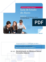 Mta 98 365.Windows Server Pt Br