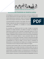 Dossier Economía Feminista CEC 2017