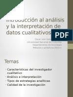 Introducción Al Análisis de Datos Cualitativos