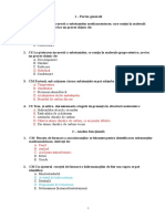 Teste La Examen Chimie Farmaceutica 2014