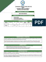 Bio-213 Biologia Básica. Rev. Abril 2015