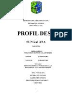 Buku Profil Desa 2016