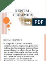DENTAL Ceramics Ppt