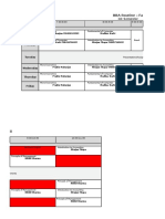 BBA Class Schedule 2016-2017