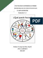 Módulo Historia de Los Conflictos Sociales