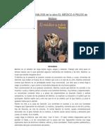 Resumen y Analisis de La Obra El Médico a Palos de Moliere