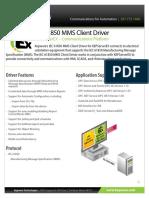 Iec 61850 Mms Client Datasheet