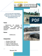 ESTRUCTURAS de DRENAJE en CARRETERAS-Alcantarillas-cajas Vertedoras-proteccion a La Salida