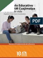 El Modelo Educativo de la UAM Cuajimalpa