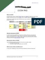 CCDA FAQ.pdf