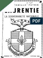 La Constitution de la République de Laurentie (1960)