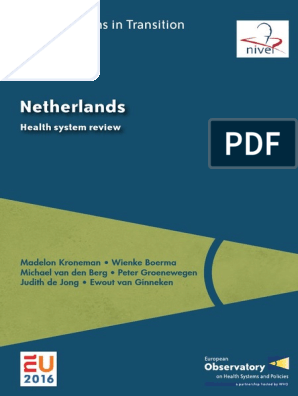 Netherlands Health Systems In Transition