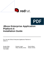 JBoss Enterprise Application Platform 6 Installation Guide en US