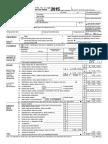 Gov 2015 Tax Return