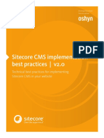 Sitecore Best Practices Implementation