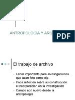 Archivos fotográficos y antropología
