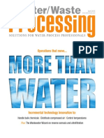 Water Waste Processing - April 2015