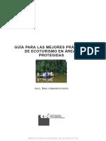 Guía Para Las Mejores Prácticas de Ecoturismo en Áreas Protegidas