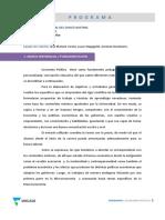 Programa Economia Politica