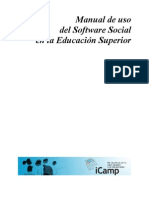 Manual de uso del Software Social en la Educación Superior