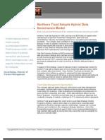 Northern Trust Adopts Hybrid Data Governance Model