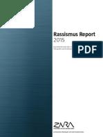 ZARA Rassismus Report 2015