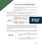 PENGUJIAN HIPOTESIS ( VIII ).doc