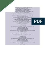 On the Wing Lyrics