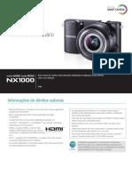 NX1000 Portuguese