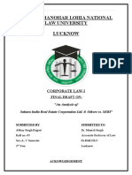 corp law I