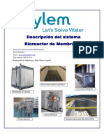 Sistema Bioreactor de Membranas