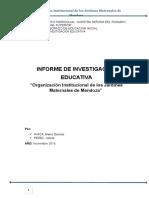 Organizacion Institucional de Los Jardines de Lavalle