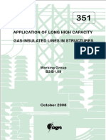 Long High Capacity Gas Insulated Lines