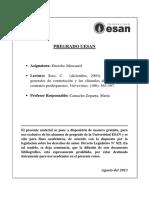 Carlos Soto. Las Cláusulas Generales de Contratación y Las Cláusulas Abusivas