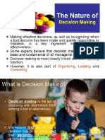 Decision making management slides