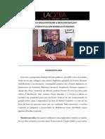Rodrigo Petronio. Deconstruir la deconstrucción