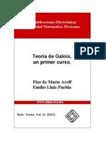 Teoría de Galois, un primer curso( Flor, Emilio) smm.pdf