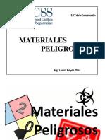 Clase Materiales Peligrosos