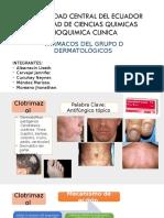Grupo D Dermatológicos