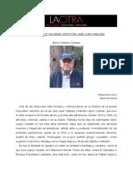 Marco Antonio Campos Premio Velarde
