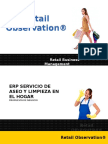 Retail Observation Limpieza ERP